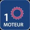 1 moteur