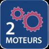 2 moteurs